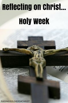 How will you spend this last week before Resurrection Sunday? Think on the…
