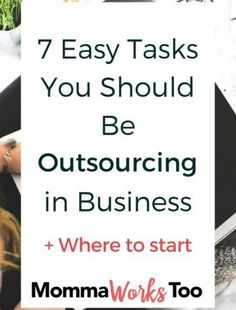 There comes the point in time where you know that there are tasks you should be outsourcing rather than keeping on your plate. Here are 7 I think you should think of outsourcing first. Repin for later and be sure to share with your friends.