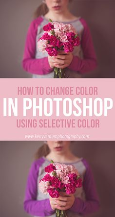 Tutorial | How to change color in photoshop using Selective color