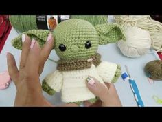 Star Wars Crochet, Crochet Stars, Crochet For Kids, Crochet Baby, Knit Crochet, Crochet Patterns Amigurumi, Amigurumi Doll, Knitting Projects, Crochet Projects
