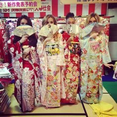 Little Mix in Kimonos Front