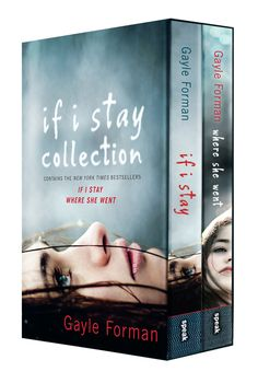 If I Stay Collection Boxed Set. I read both books! And want to see the movie…
