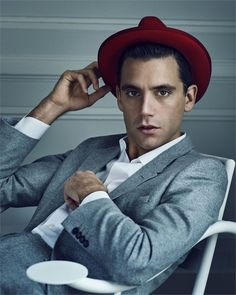 Mika in Vanity Fair Italia - November 6th 2013