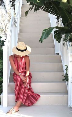What I Wore: A Week At The Beach | summer outfit ideas | what to wear for a beach vacation | casual style | mom style | spring outfit ideas | affordable style | high low #fashion #style