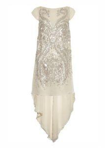 Antonio Berardi Embellished Silk-chiffon Gown