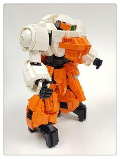 Blood Orphans, Lego Mechs, Lego Models, Gundam Model, Mobile Suit, Lego Creations, Legos, Robot, Iron