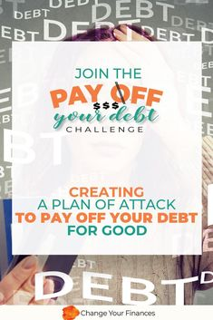 Does paying off your debt seem impossible? Your debt may be up to your eyeballs, it feels like you'll never be able to pay it off. And you're ready for that to change. Join Pay your debt challenge Student Jobs, Paying Off Student Loans, Budgeting Finances, Budgeting Tips, Household Expenses, Paying Off Credit Cards, Budget Planer, Financial Peace, Family Budget