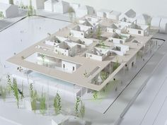 model architecture — graduation model... Concept Architecture, School Architecture, Landscape Architecture, Interior Architecture, Architecture Models, Architecture Diagrams, Architecture Portfolio, Co Housing, Social Housing