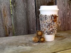 A personal favorite from my Etsy shop https://www.etsy.com/listing/208214973/coffee-sleeve-coffee-cup-sleeves-cup