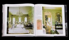 The garden room at Winfield House, London, by William Haines . Winfield House, Pressed Leaves, Inspirational Books, Drawing Room, Western Art, Chinoiserie, London, Interior Design, Architecture