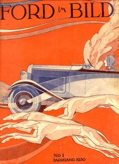 Ford im Bild Cover - Lincoln (1930): Graphic by Bernd Reuters