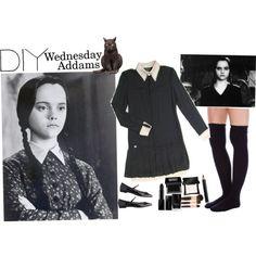 DIY Halloween: Wednesday Addams