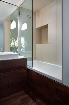 simple shower niche detail. design by christopher stevens