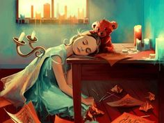 children sleeping at school desk - Google Search
