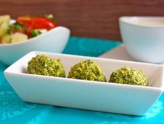 Baked Falafel. Easy and delicious! #firstgroupfirst