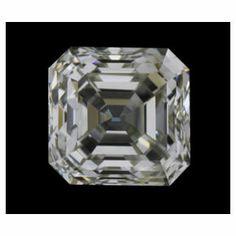 0.50 Carat Asscher Diamond with GIA grading