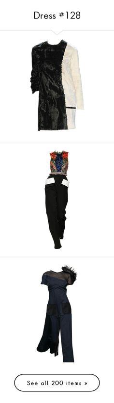 """Dress #128"" by bliznec-anna ❤ liked on Polyvore featuring dresses, jumpsuit, ermanno scervino, vestidos, short dresses, vestiti, round neck dress, short metallic dress, sleeveless dress and giles dress"