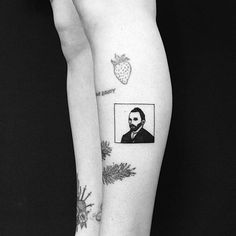 Van Gogh on @maryellengroundwater. Thank you! #tattoo #illistration #painting…