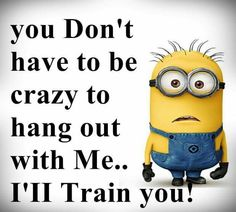 Amusing Minion Quotes You Will Enjoy! We have 16 funny and amusing minion quotes that will make you smile and chuckle a little bit.We have 16 funny and amusing minion quotes that will make you smile and chuckle a little bit. Minion Love Quotes, Minions Quotes, Minion Sayings, Funny Minion Memes, Funny Jokes, Hilarious, Minion Humor, Minion Stuff, Minion Pictures