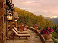 Mountaintop Chateau: Aspen, Colo.