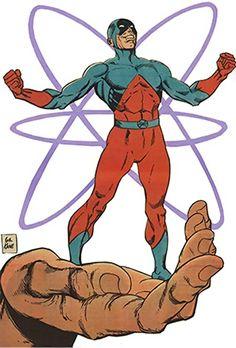 Atom - Ray Palmer - DC Comics - JLA - Ttans - Indigo tribe