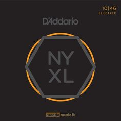 Nuovissima gamma di corde d'addario NYXL1046. Rivoluzione totale per un suono e una longevità senza precedenti!!