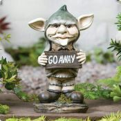 Garden gnome go away