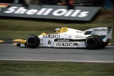 1984 - Brands Hatch - Keke Rosberg - Williams FW09 Powered by Honda RA163E 1,5 V6 t