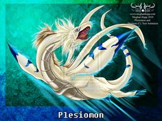 Digimon: Plesiomon by *Juctoo on deviantART