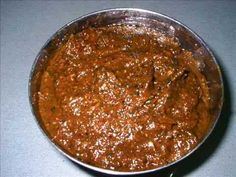 Allam Pachhadi - Ginger Chutney Exhaustive recipe text in English available on http://www.gayatrivantillu.com/recipes-2/chutneys-and-aachars/allampachhadi