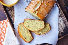 French Lemon-Poppy Pound Cake