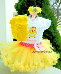 Hey, I found this really awesome Etsy listing at http://www.etsy.com/listing/171486188/easter-tutu-chick-tutu-babies-first