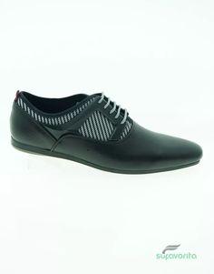 Zapato Casual Caballero Textil Negro Galileo -   377.68 en Mercado Libre 947cc8d8c70