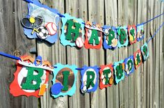 Your place to buy and sell all things handmade Sports Theme Birthday, Sports Flags, Creative Banners, Baby Banners, Sports Party, Green Glitter, Etsy Shop, Golf Tips, Handmade