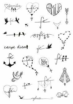 unique Friend Tattoos - Fé e Família Finger Tattoos, Body Art Tattoos, Tatoos, Finger Tattoo Designs, Tattoo Girls, Tattoos For Guys, Wrist Tattoos For Women, Tattoos For Women Small, Tattoo Kids Names
