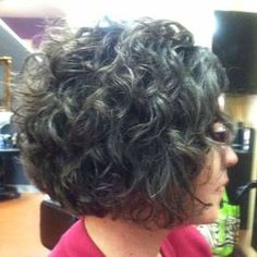 16 Short Hairstyles for Thick Curly Hair: #11. Thick Curly Bob Haircut