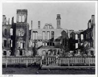 Emporia, KS Normal School Fire, Oct 1878