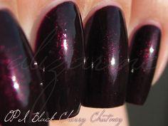 OPI Black Cherry Chutney