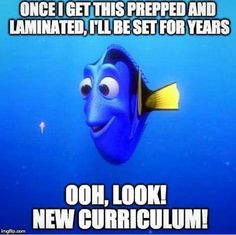 "Or in my case, ""new grade, again""! Haha"