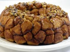 """""""Lighter"""" Monkey Bread Recipe--34 grams of fat and 400 calories LESS than a normal serving! (This version = 190 calories, 6 g fat)"""
