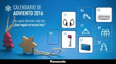 Calendario de Adviento Panasonic 2016