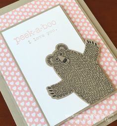 Bear Hugs, Suite Sayings, Words of Truth, Stampin' Up!, Brian King, PPA281