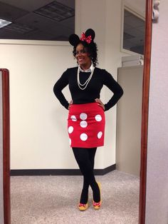 mickey mouse diy costume my style pinterest kost m. Black Bedroom Furniture Sets. Home Design Ideas