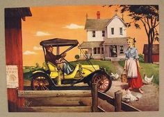 Vintage 1960's Robert Pettes Bob Pettes Proud As Can Be Print