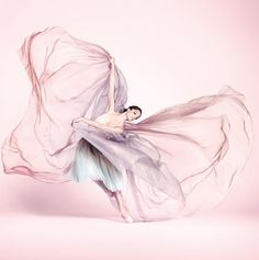 §♥ flowing pastel gown