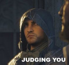 Assassins creed unity Arno is judging you...... google