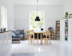 Scandinavisch design eethoek - Meubelen: Alvar Aalto