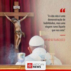"""Vatican News - Português no Instagram: """"""""Não deixemos que o cansaço, as quedas e os fracassos nos precipitem no desânimo; antes, pelo contrário, reconhecendo-os com humildade…"""" Papa Francisco, Instagram, Humility, Frases"""