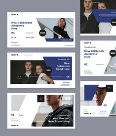 Facebook Post Banner Templates PSD Facebook Ad Template, Facebook Banner, Creative Banners, Best Facebook, Advertising, Ads, Banner Template, Templates, Design