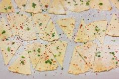 nachos caseros horneados